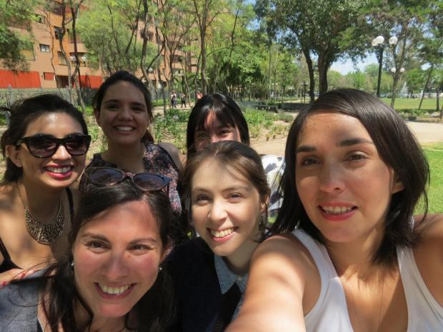 La selfie grupal (obvio)